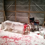 The set of Titus Andronicus by Smooth Faced Gentlemen